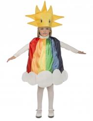 Kostume regnbue til børn