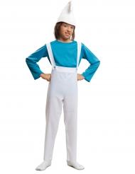 Kostume lille blå alf til børn