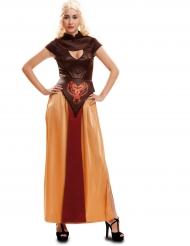 Kostume krigerdronning til kvinder