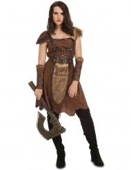 Kostume nordisk kriger til kvinder