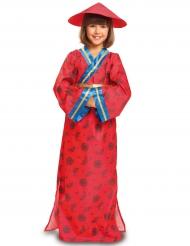 Kostume rød kineser til piger
