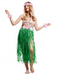 Kostume chic kvinde fra Hawaii