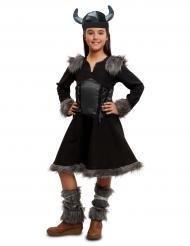 Kostume viking sort til piger