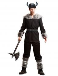 Kostume viking sort til mænd