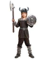 Kostume sort viking til drenge