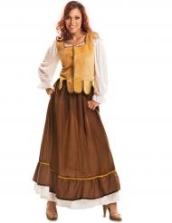 Kostume middelalder kvinde kromor
