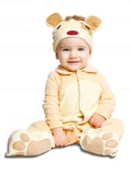 Kostume lille bjørn med sut luksus til babyer