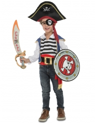 Kostume pirat med tilbehær til børn
