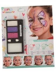 Sommerfugl make-up til pige