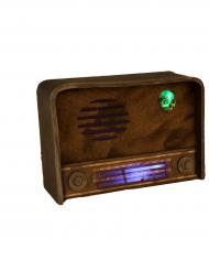 Deko Vintage Radio med lyd og lys
