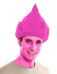 Paryk troll rosa til voksne