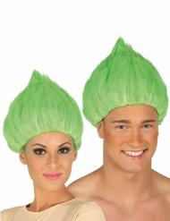 Paryk troll i grøn til voksne