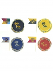 Pakke med 100 dekorationer til cupcakes  - Harry Potter™