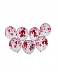 Blodige Halloween balloner 8 stk