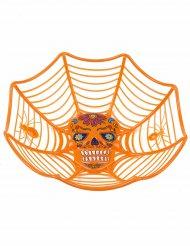 Skål orange Dia de los Muertos 26 cm