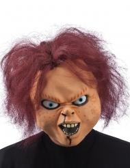 Skræmmende Halloween dukke maske til voksne