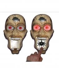 Ringeklokke med lys og lyd Halloween