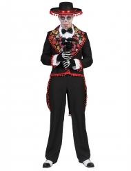 Kostume mexicansk romantisk til mænd Dia de los Muertos
