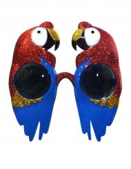 Brille med papegøje