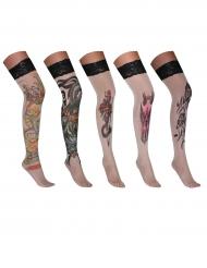 Strømper med tatoveringer