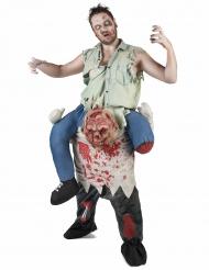Kostume carry me zombie til voksne Halloween