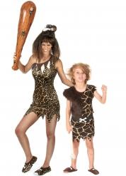 Par kostume forhistorisk til mor og dreng