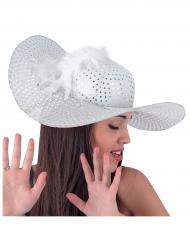 Hat elegant hvid til kvinder
