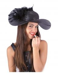 Hat sort og elegant