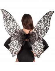 Store vinger i sort til kvinder