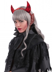 Ører røde til voksne Halloween