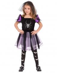 Kostume heks med edderkop til piger
