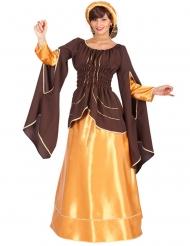 Kostume kejserinde brun og guld til kvinder