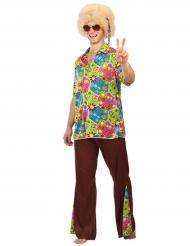 Kostume hippie blomster til mænd