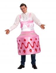 Kostume kage med jordbær til voksne