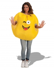 Stor gul smiley til voksne