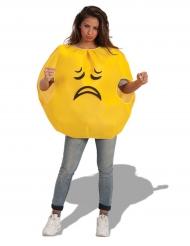 Kostume trist smiley til voksne