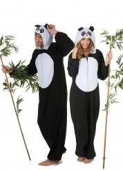 Parkostume panda til voksne