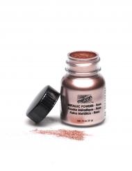 Pudder rosa metallisk Mehron™ 14 gr