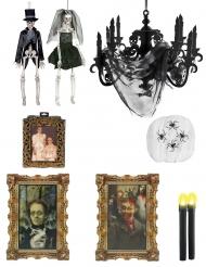 Pakke dekoration hjemsøgt hus Halloween