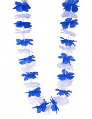 Hawai krans i blå og hvid Finland til voksne