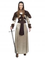 Kostume middelalder ridder til kvinder