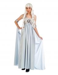 Kostume blå prinsessekjole til kvinder