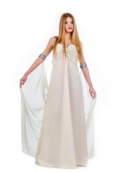 Kostume hvid prinsesse til kvinder