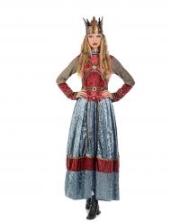 Kostume middelalder dronning premium