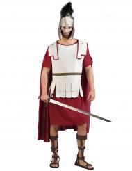 Rød romersk gladiatorkostume til mænd