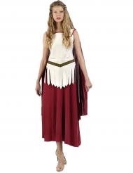 Den røde gladiator - gladiatorkostume til kvinder