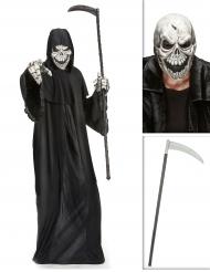 Pakke manden med leen med le og maske Halloween