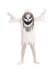 Kostume spøgelse med stor hoved til børn Halloween