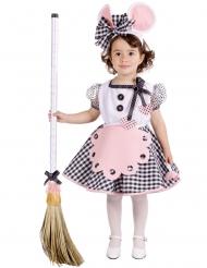 Kostume lille mus til piger