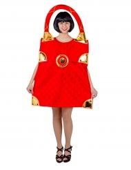 Kostume rød taske til kvinder